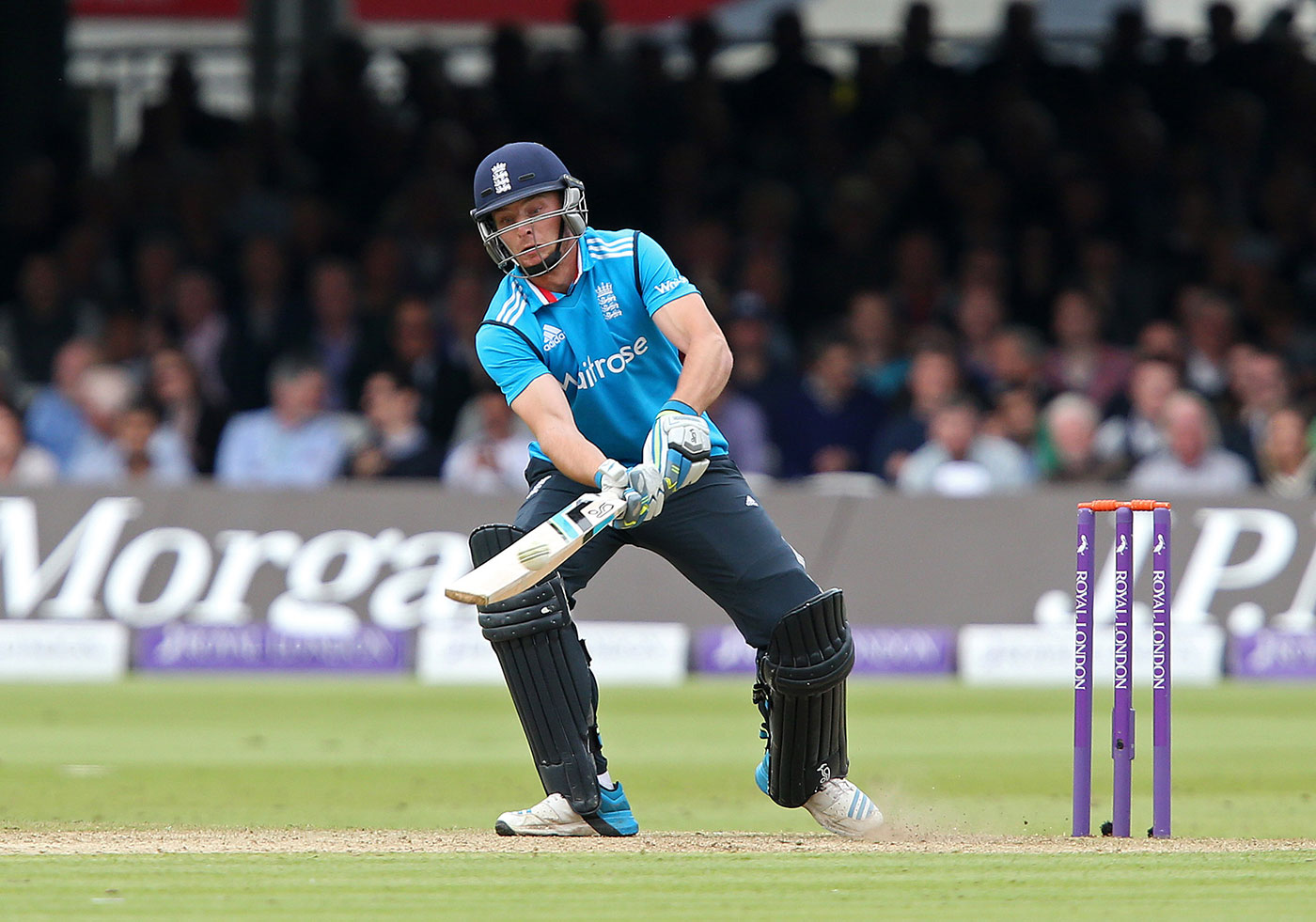 Scoopy Doo: during his 61-ball hundred against Sri Lanka at Lord's in 2014