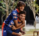 Khaleel Ahmed and Pawan Suyal bond with each other, Delhi, IPL 2016, April 13, 2016