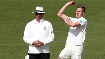 Jake Ball completed a five-wicket haul