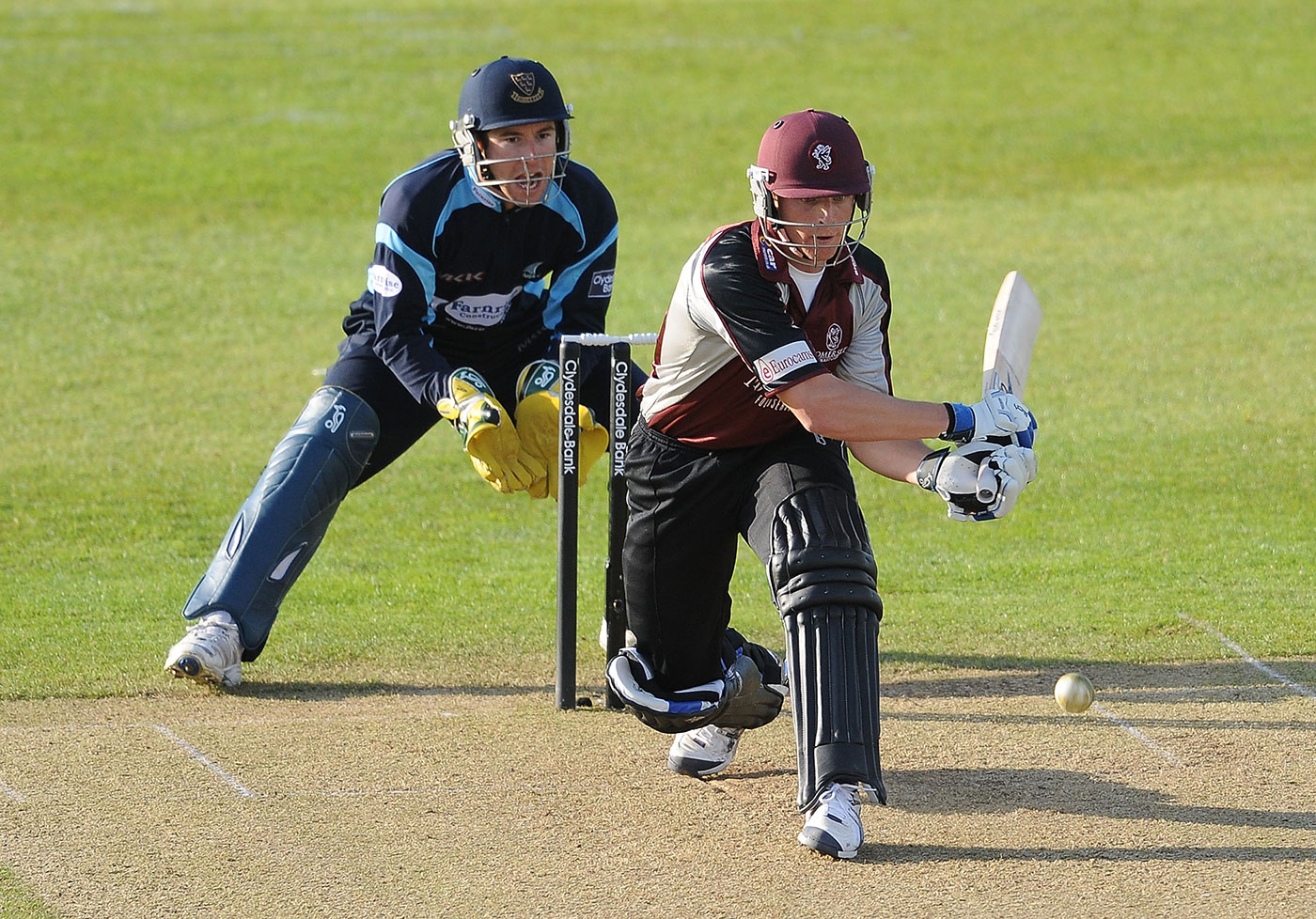All the shots, and then some: in 2010, Buttler made 440 runs in the CB40 tournament