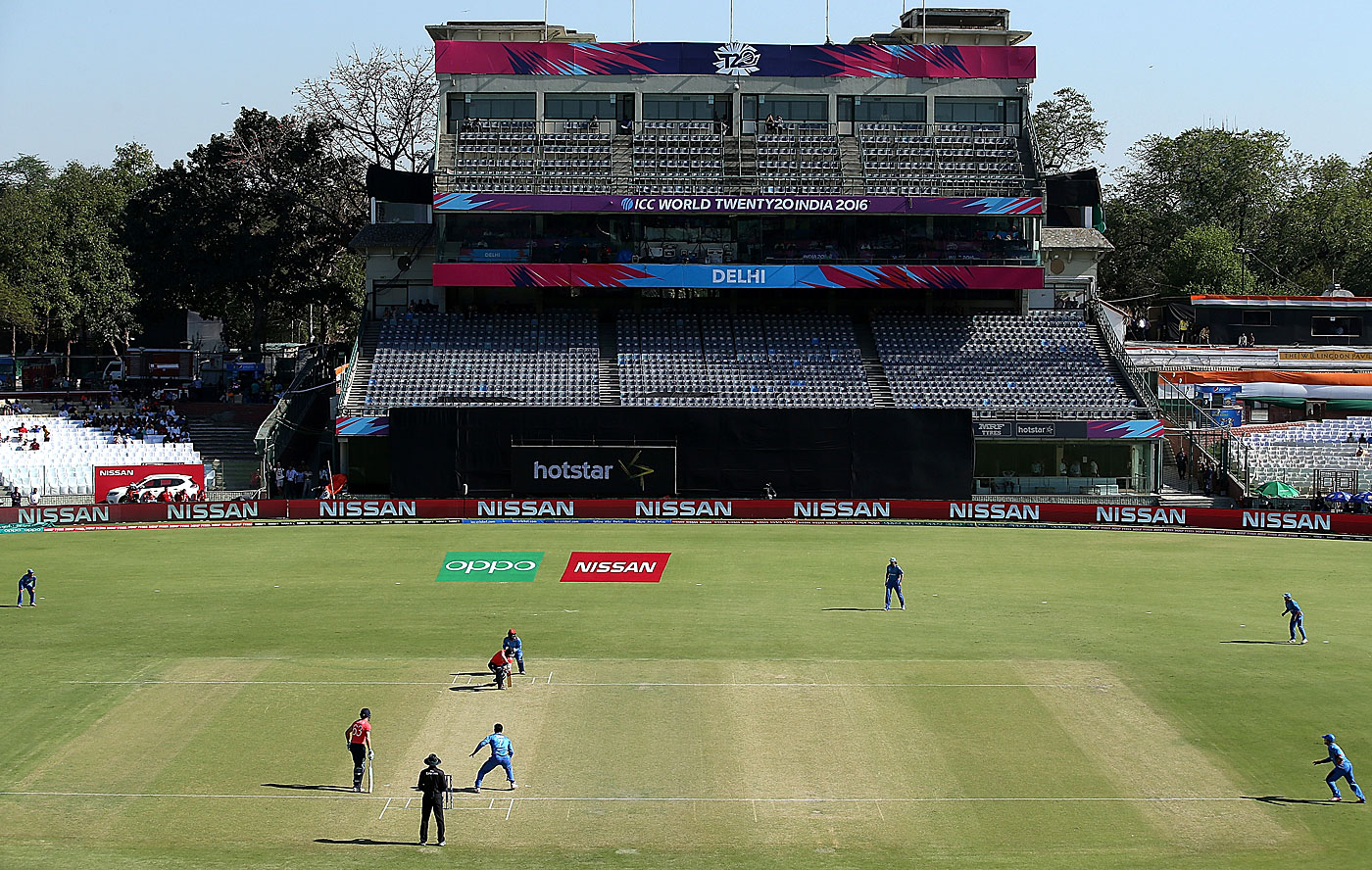 For the three league games of the World T20, all 2000 seats of the RP Mehra Block were unavailable