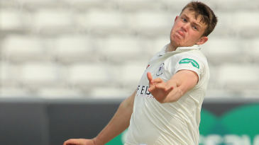 Josh Shaw took four wickets on his Gloucestershire debut