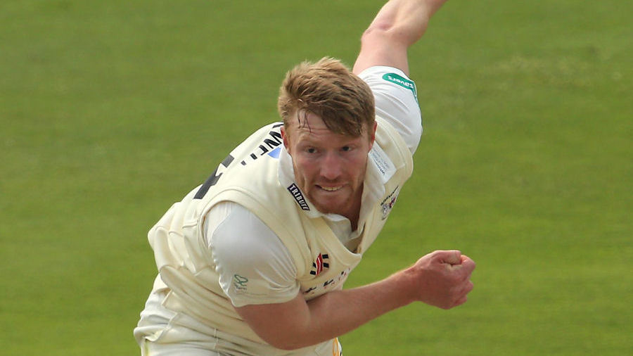 Liam Norwell leads Gloucestershire's attack