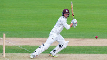 Ben Foakes bats for Surrey at the start of the 2016 season