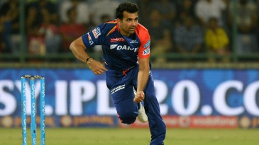 Zaheer Khan bowled a tidy spell, taking 1 for 14 in four overs