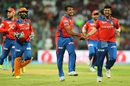 Pravin Tambe tripped up Mumbai Indians' middle order, Mumbai Indians v Gujarat Lions, IPL 2016, Mumbai, April 16, 2016