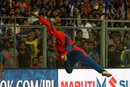 Akshdeep Nath nearly pulled off a stunning catch, Mumbai Indians v Gujarat Lions, IPL 2016, Mumbai, April 16, 2016