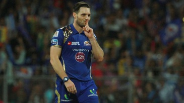 Mitchell McClenaghan took four wickets