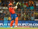 Aaron Finch sealed Gujarat Lions' win with a pulled four, Mumbai Indians v Gujarat Lions, IPL 2016, Mumbai, April 16, 2016