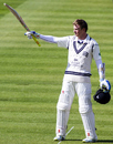 Sam Robson made a composed century, Middlesex v Warwickshire, Specsavers County Championship, Division One, Lord's, 1st day, April 17, 2016