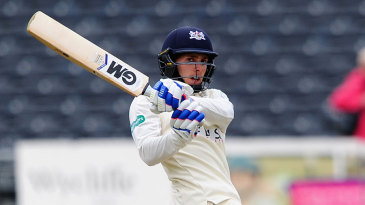 Chris Dent's hundred helped forge Gloucestershire's strong reply
