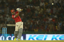 M Vijay lofts a straight drive for four, Kings XI Punjab v Kolkata Knight Riders, IPL 2016, Mohali, April 19, 2016