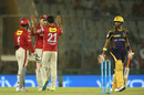 Pardeep Sahu trapped Robin Uthappa lbw, Kings XI Punjab v Kolkata Knight Riders, IPL 2016, Mohali, April 19, 2016