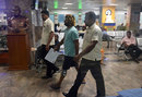 Lasith Malinga leaves hospital after more checks on his knee, Colombo, April 20
