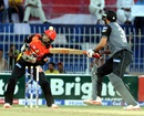 Sohail Tanvir is bowled by Zulfiqar Babar, Balochistan, v Punjab (Pakistan), Pakistan Cup 2016, April 19, 2016