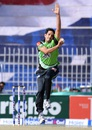Islamabad pacer Mohammad Abbas prepares to deliver the ball, Islamabad v Khyber Pakhtunkhwa, Pakistan Cup 2016, April 20, 2016
