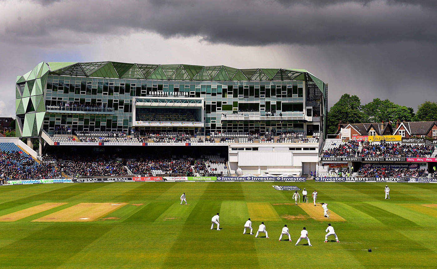 An overview of Headingley during the England-New Zealand Test
