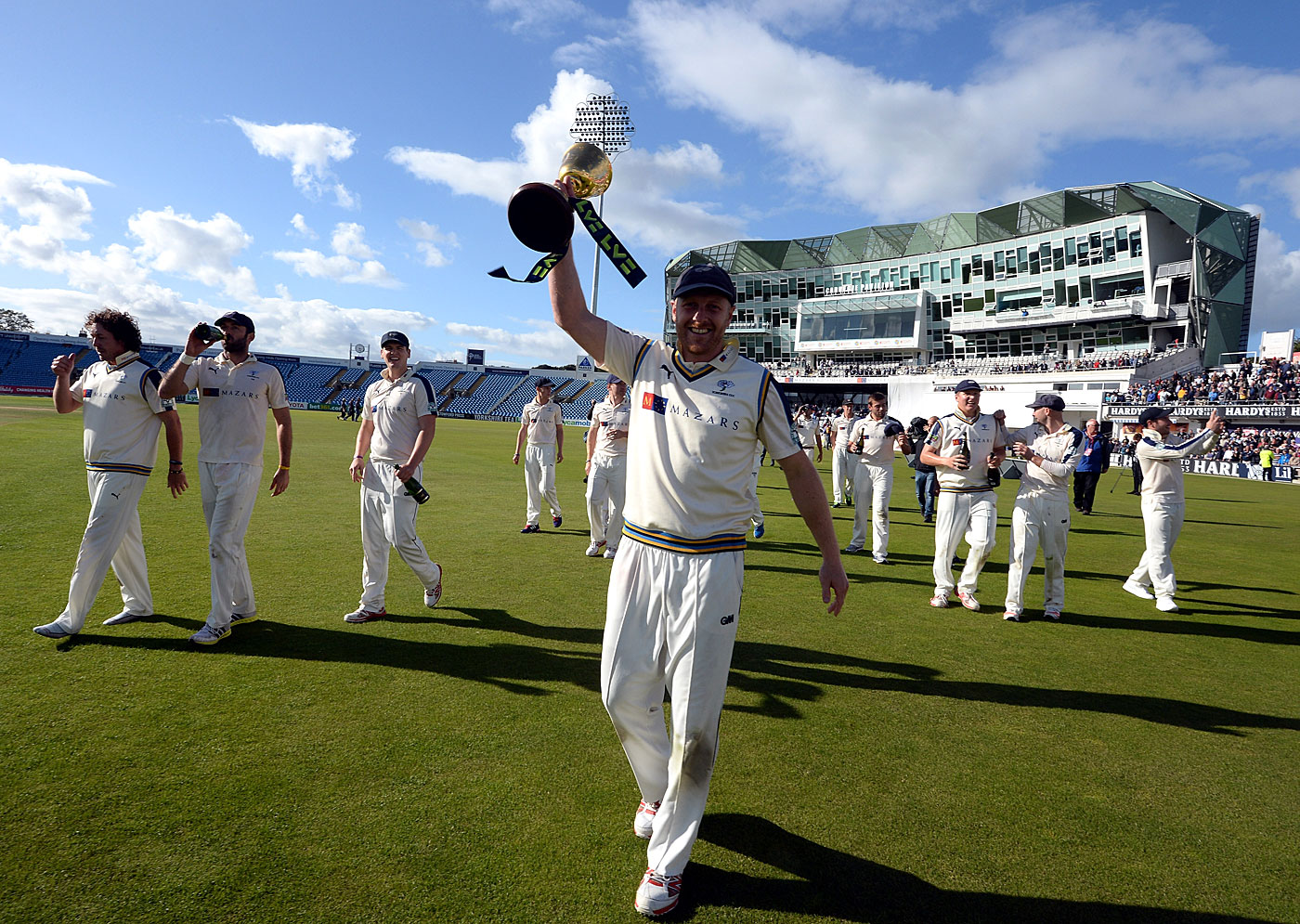 It felt likes old times again after Yorkshire claimed back-to-back Championship titles in 2014 and 2015