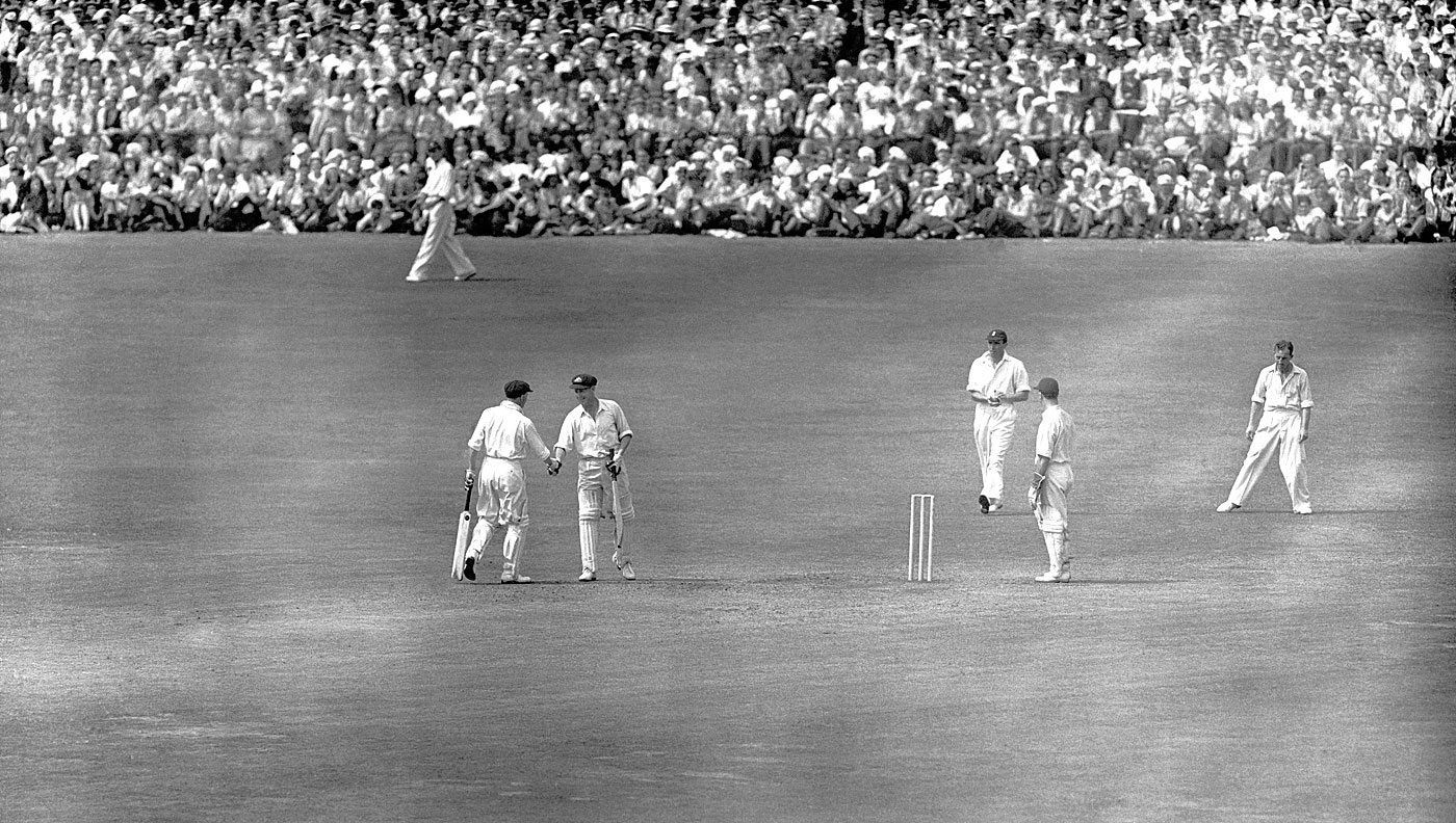 Morris' match: when Australia chased a record 404 in less than a day, with a little help from AR Morris (182) and DG Bradman (173)