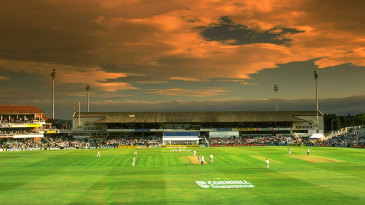 Sunset at Headingley