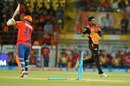 Bhuvneshwar Kumar removed Aaron Finch in the first over, Gujarat Lions v Sunrisers Hyderabad, IPL 2016, Rajkot, April 21, 2016
