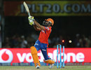 Ravindra Jadeja was castled by a slower delivery from Mustafizur Rahman, Gujarat Lions v Sunrisers Hyderabad, IPL 2016, Rajkot, April 21, 2016