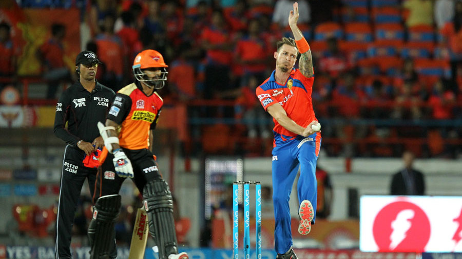 Dale Steyn made his debut for Gujarat Lions