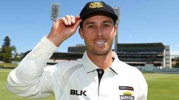 Jonathan Wells ahead of his first Sheffield Shield game for Western Australia