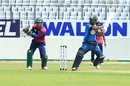 Shamsur Rahman plays through the off side, Gazi Group Cricketers v Prime Bank Cricket Club, Dhaka Premier League 2016, April 22, 2016