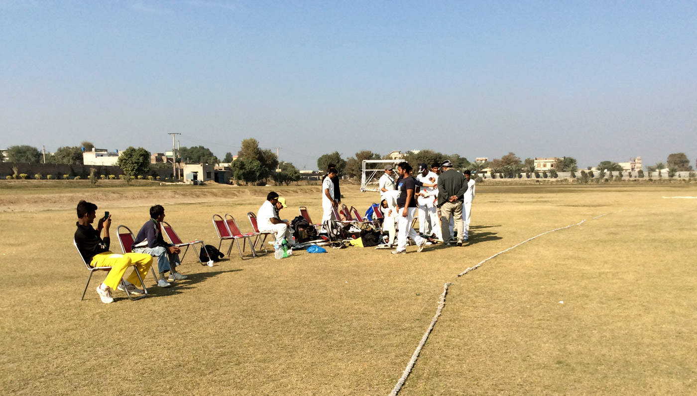 Players from Fazl-e-Umar CC in Rabwah