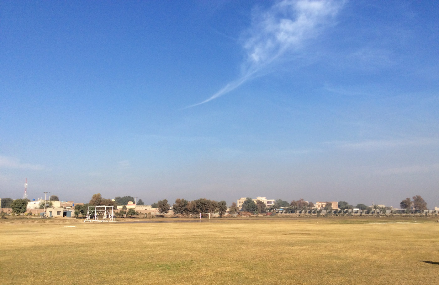 Rabwah's cricket ground was originally meant to be used for an annual Ahmadi religious event
