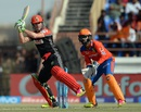 AB de Villiers whips one through the leg side, Gujarat Lions v Royal Challengers Bangalore, IPL 2016, Rajkot, April 24, 2016