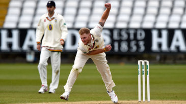 Ben Stokes was back in action