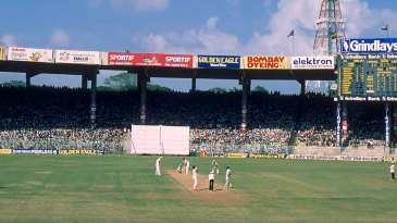 General view of MA Chidambaram Stadium in Chepauk during the India-England Test of 1985
