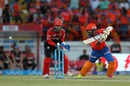 Dinesh Karthik guides one to the off side, Gujarat Lions v Royal Challengers Bangalore, IPL 2016, Rajkot, April 24, 2016