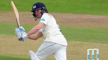 Hamish Marshall reached his fifty from 111 balls