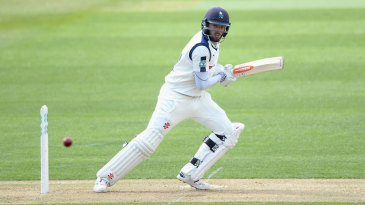 Jack Leaning notched a half-century