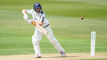Gary Ballance plays through the off side