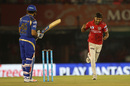 Sandeep Sharma has Rohit Sharma caught behind for a second-ball duck, Kings XI Punjab v Mumbai Indians, IPL 2016, Mohali, April 25, 2016