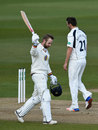 Mark Stoneman recorded his first century of the season, Durham v Middlesex, County Championship, Division One, Chester-le-Street, 2nd day, April 25, 2015