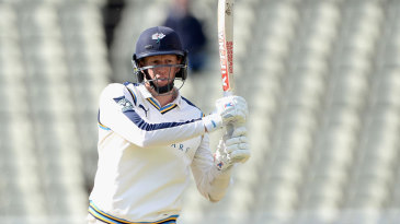 Steve Patterson dug in for Yorkshire