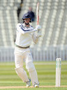 Steve Patterson dug in for his highest first-class score, Warwickshire v Yorkshire, County Championship, Division One, Edgbaston, 2nd day, April 25, 2015