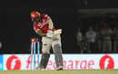Nikhil Naik missed a yorker from Jasprit Bumrah, Kings XI Punjab v Mumbai Indians, IPL 2016, Mohali, April 25, 2016