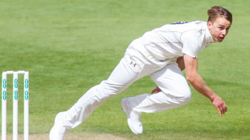 Tom Curran in action for Surrey