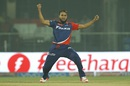 Imran Tahir took 3 for 24 in four overs, Delhi Daredevils v Gujarat Lions, IPL 2016, Delhi, April 27, 2016