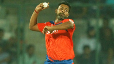 Praveen Kumar conceded just 13 runs in four overs