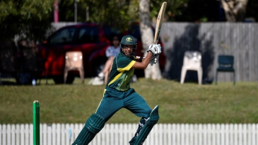 Jason Sangha batting
