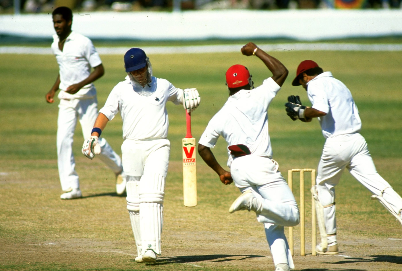 England were dismissed for 200 or under in eight of their ten Test innings on the 1985-86 tour