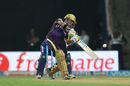 Gautam Gambhir drives expansively through the off side, Mumbai Indians v Kolkata Knight Riders, IPL 2016, Mumbai, April 28, 2016