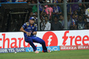 Tim Southee dropped catches off successive balls, Mumbai Indians v Kolkata Knight Riders, IPL 2016, Mumbai, April 28, 2016